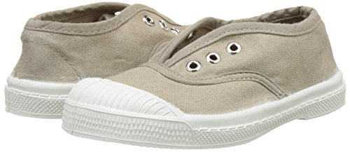 Baskets Bensimon en toile kaki