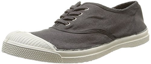 Baskets Bensimon en toile grise