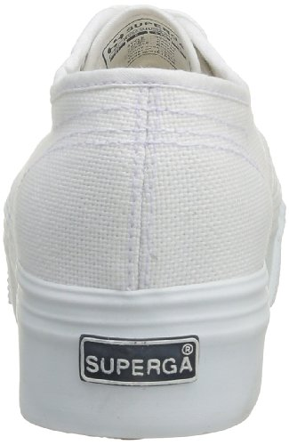 Baskets en toile blanche casual Superga