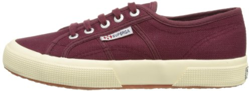 Baskets en toile prune casual Superga avec plate forme