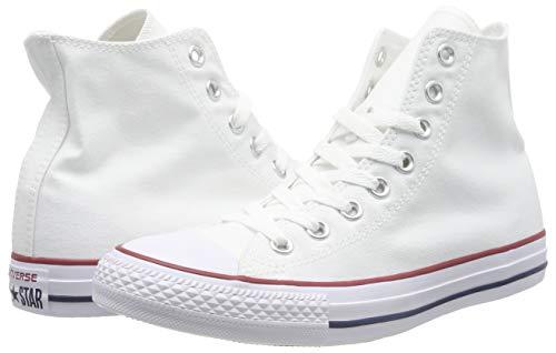 Baskets hautes Converse Chuck Tailor en toile blanche | Rue