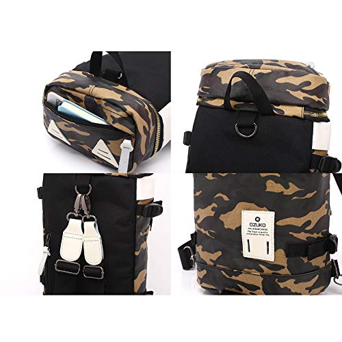 Sac à dos camouflage Trendy pour homme Osuko