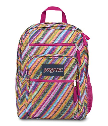 Sac à dos Jansport rayé coloré oblique